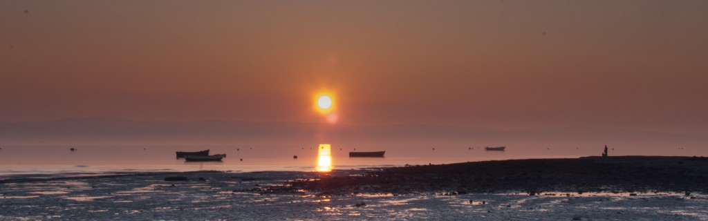 West Kirby beach - Sunset