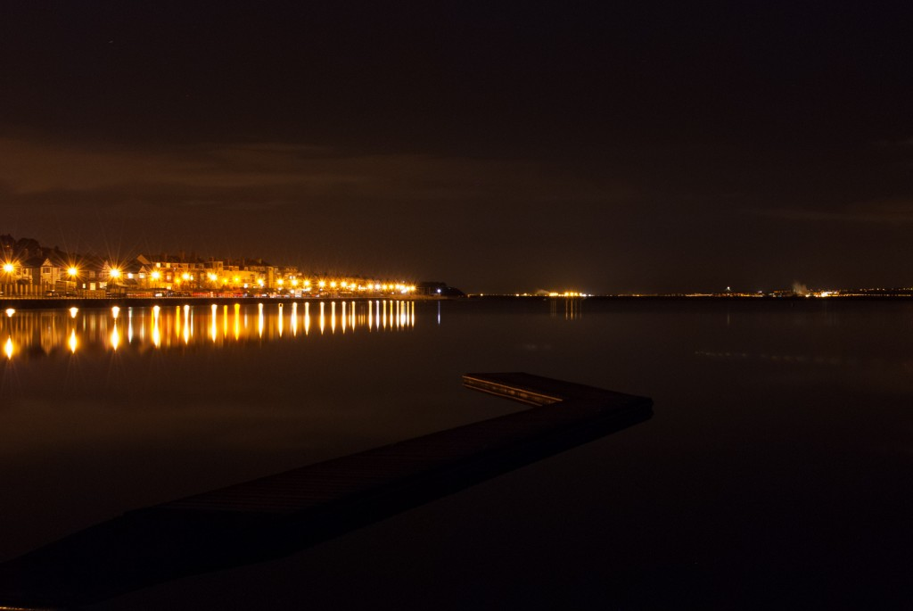 Lake Pier - Low light photography